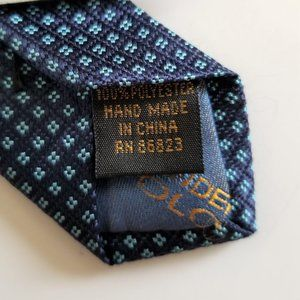 4/$25 Alexander Julian Colors Necktie Blue/Blue